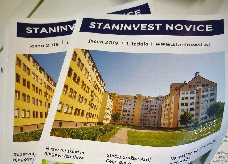 Izšle so 1. STANINVEST NOVICE