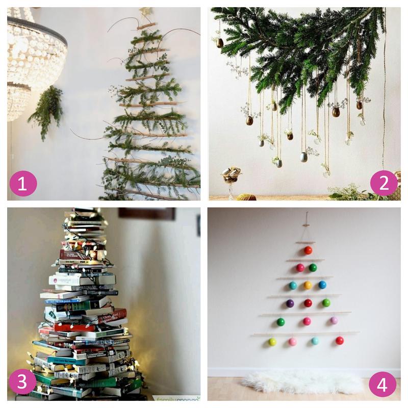 4 ideje za inovativno božično jelko