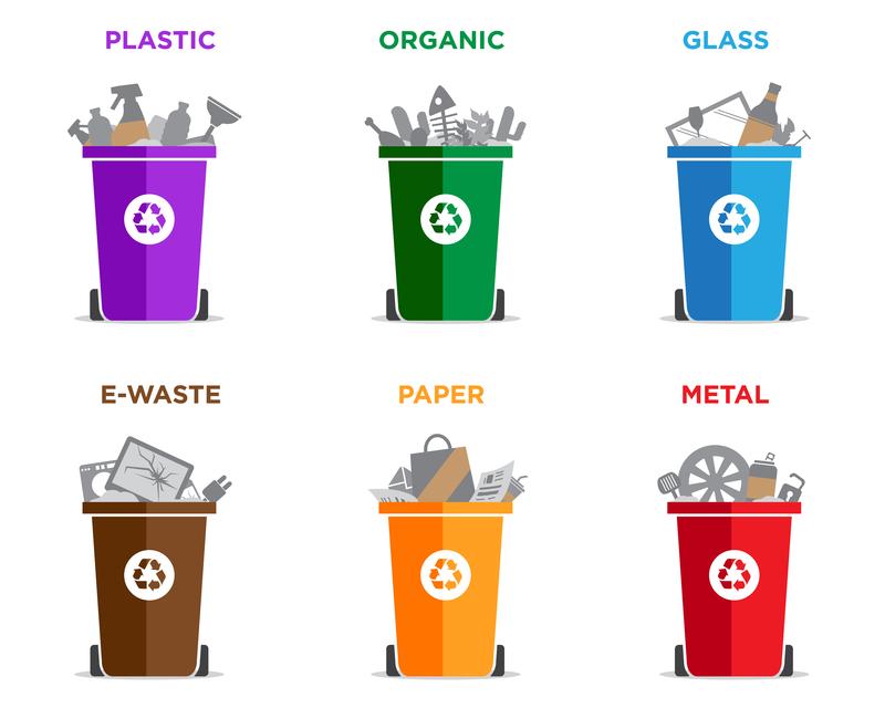 Kako ustrezno ločevati odpadke?