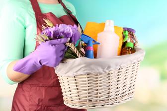 Pomlad je tukaj. Čas je za čiščenje.